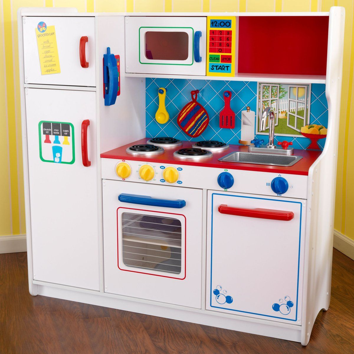 KidKraft Deluxe Lets Cook Play Kitchen Kitchen sets for