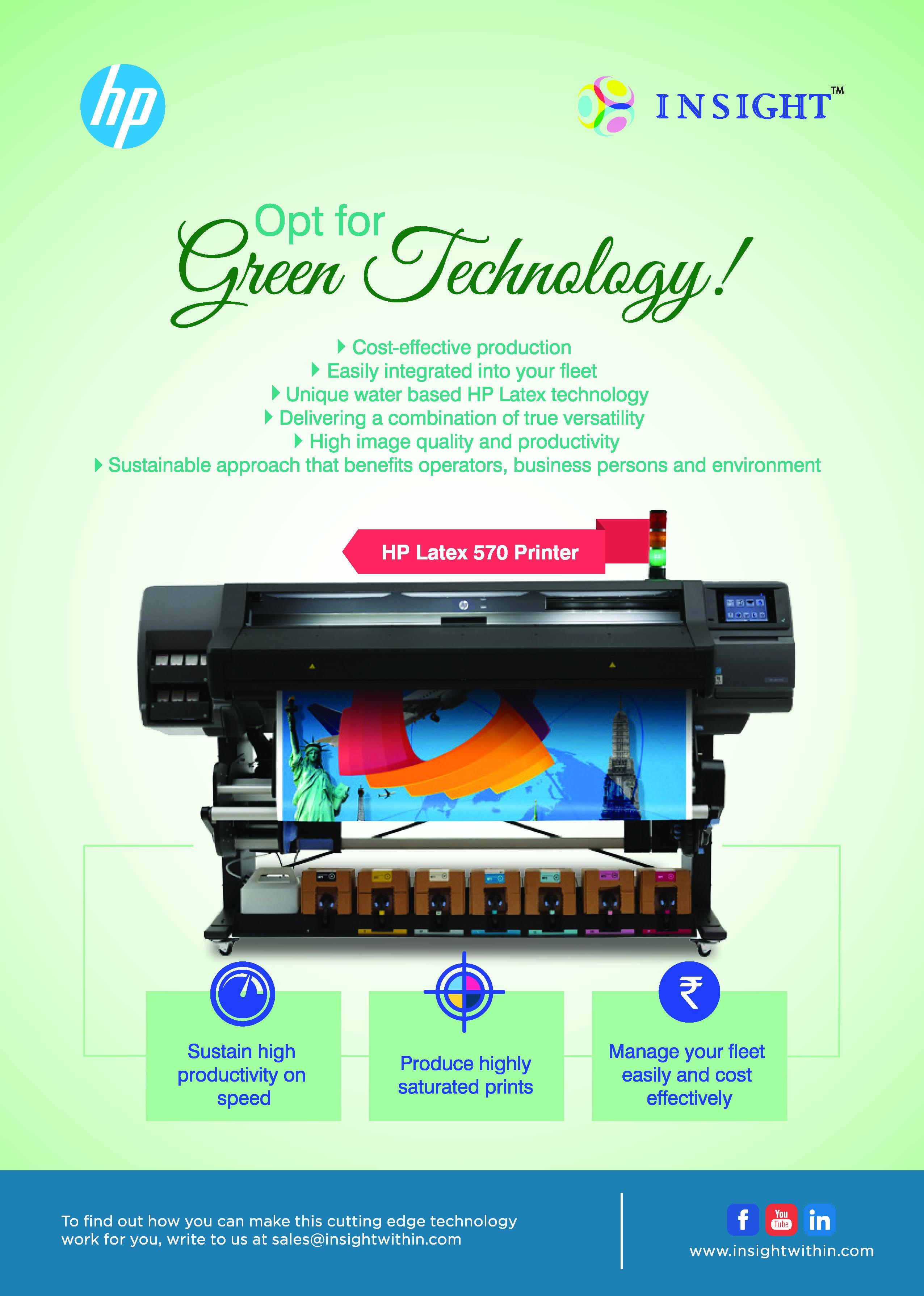Pin By Insight Print Communications On Hp Printers Green Technology Hp Printer Insight