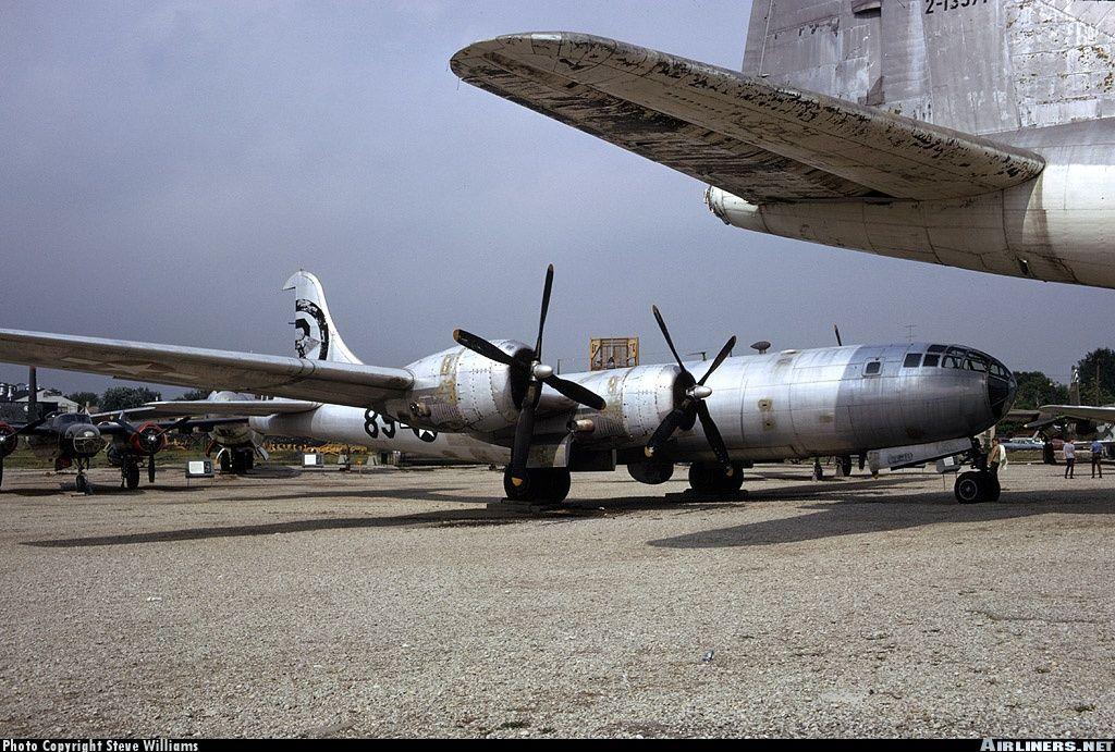 """Bockscar"" at United States Air Force Museum, old site"