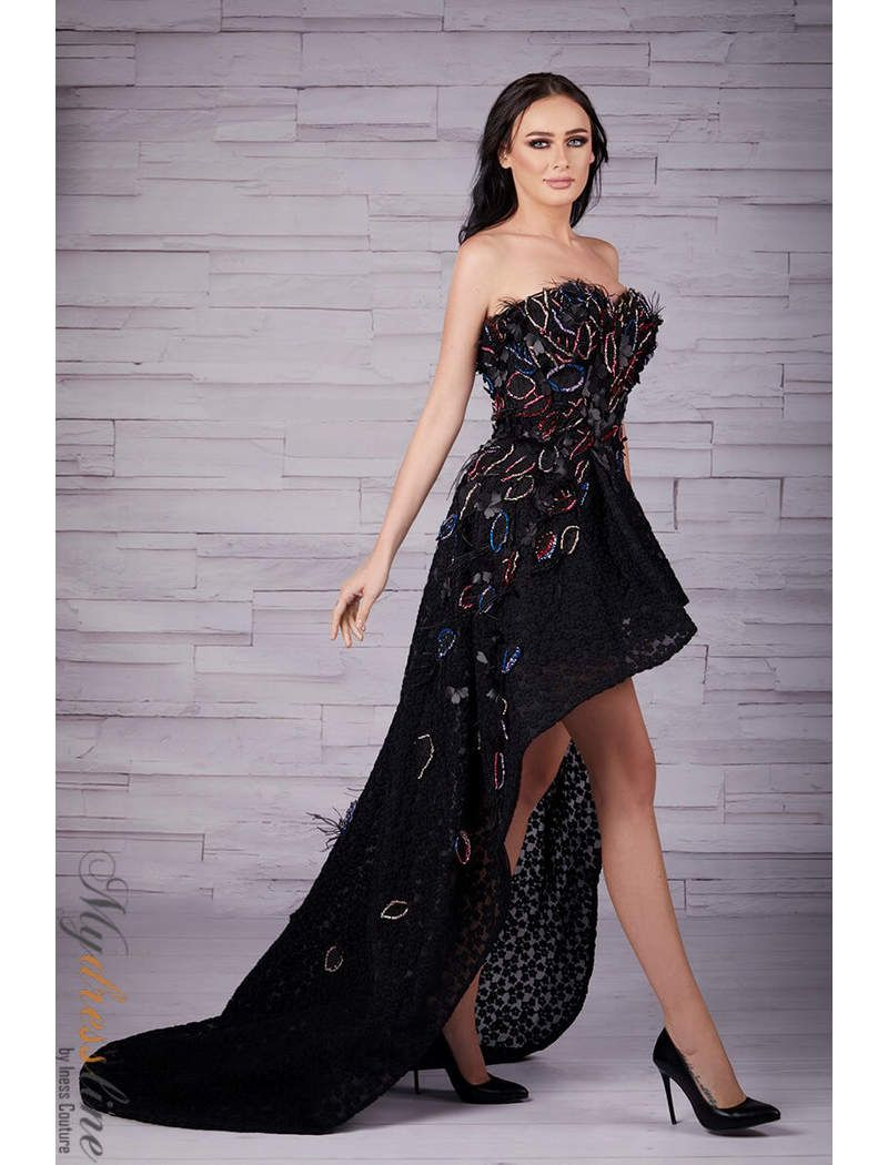 ed5fe2980 Sara Badr 26518 Dress in 2019 | Mydressline.com - BLOG | Strapless ...