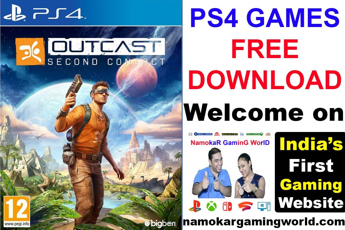 Outcast Second Contact Ps4 Free Download Ps4 Free Games Outcast Ps4