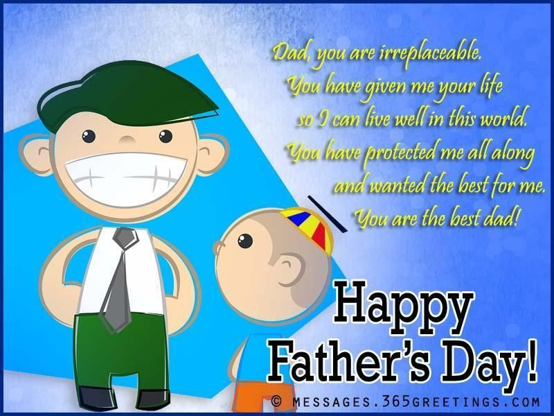 fathers day greetings from son