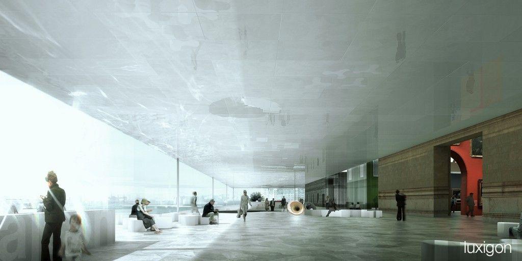Wettbewerb Für Theatersanierung: REX - Munch Museum, Oslo, NO - Luxigon