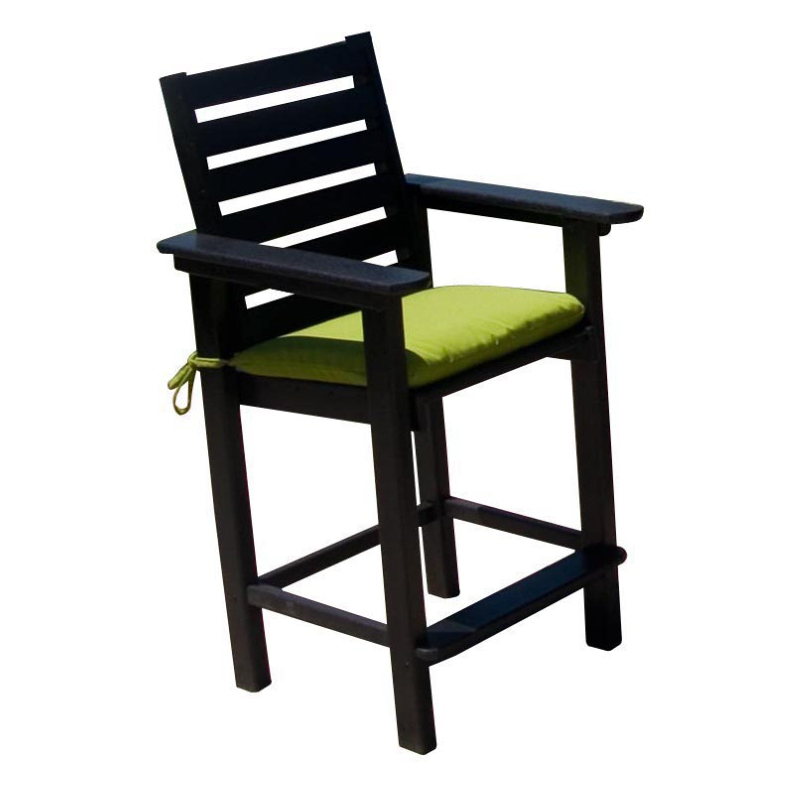Polywood Captain Recycled Plastic Counter Stool Counter Stools