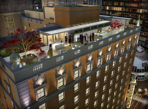 Vancouvers Wedding Reception Venue At Rosewood Hotel Georgia Located On And Howe Offers A Stunning Rooftop Lounge
