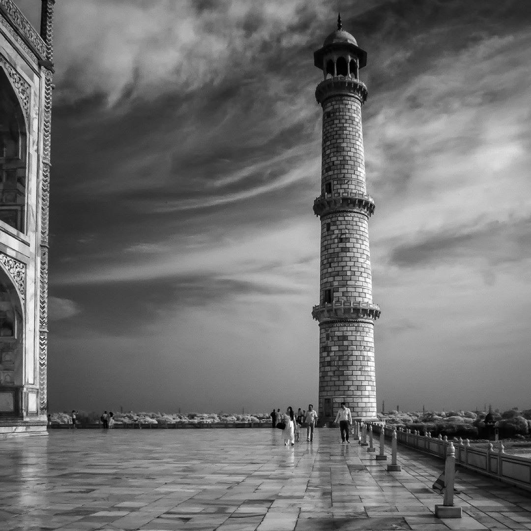 #Taj Mahal #Agra #India #IR Photography