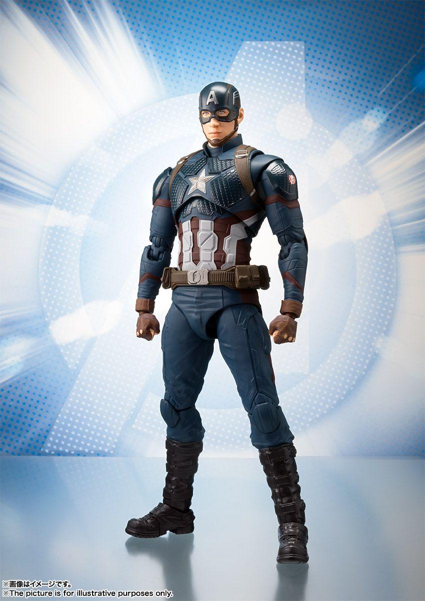 SHF S.H.Figuarts Avengers Captain Marvel PVC Action Figure New toy No Box