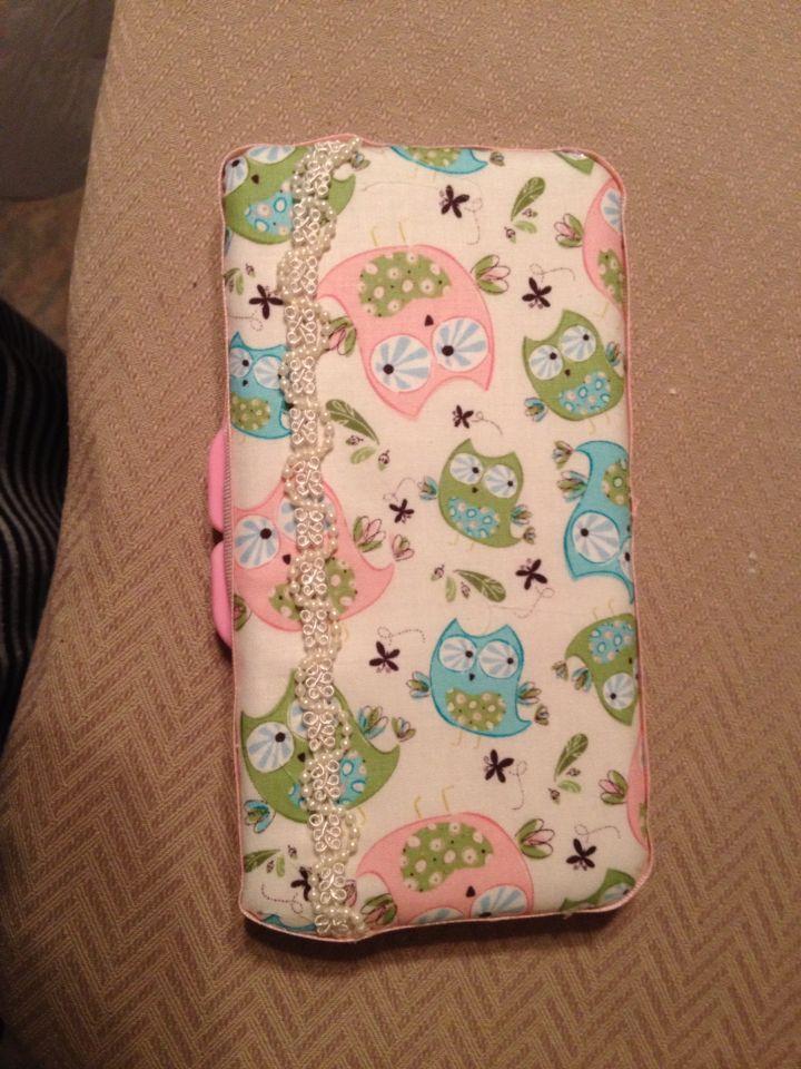 Baby wipes case DIY