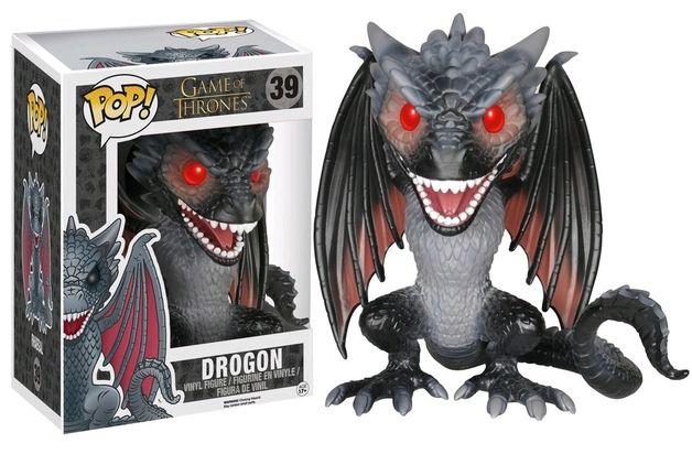 """Game of Thrones - Drogon 6"""" US Exclusive Pop! Vinyl Figure"""
