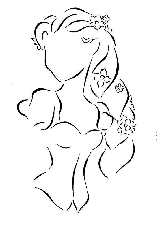 Tangled Sketch Disney Art Disney Tattoos Disney Sketches