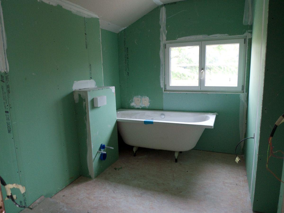 Placo Salle De Bain | Placo salle de bain, Salle de bain, Salle de bains dressing