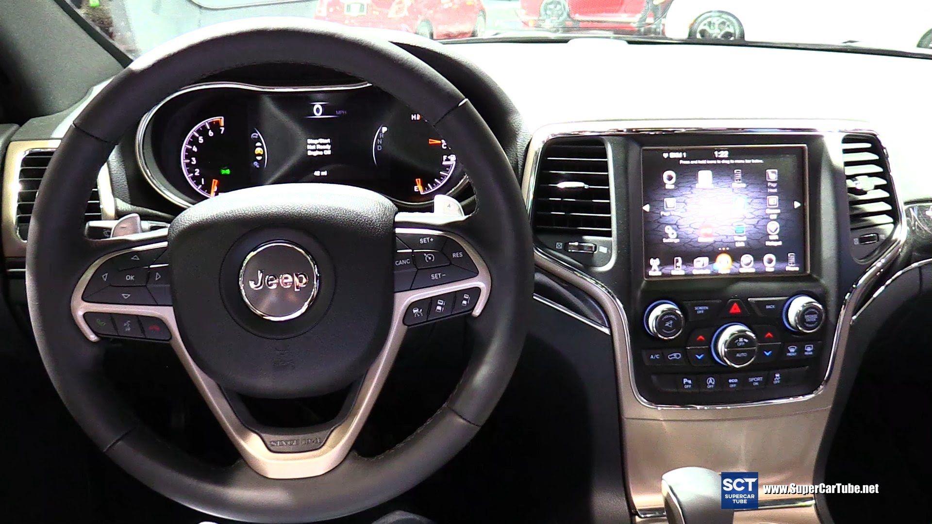 2016 Jeep Grand Cherokee 75th Anniversary Interior Walkaround