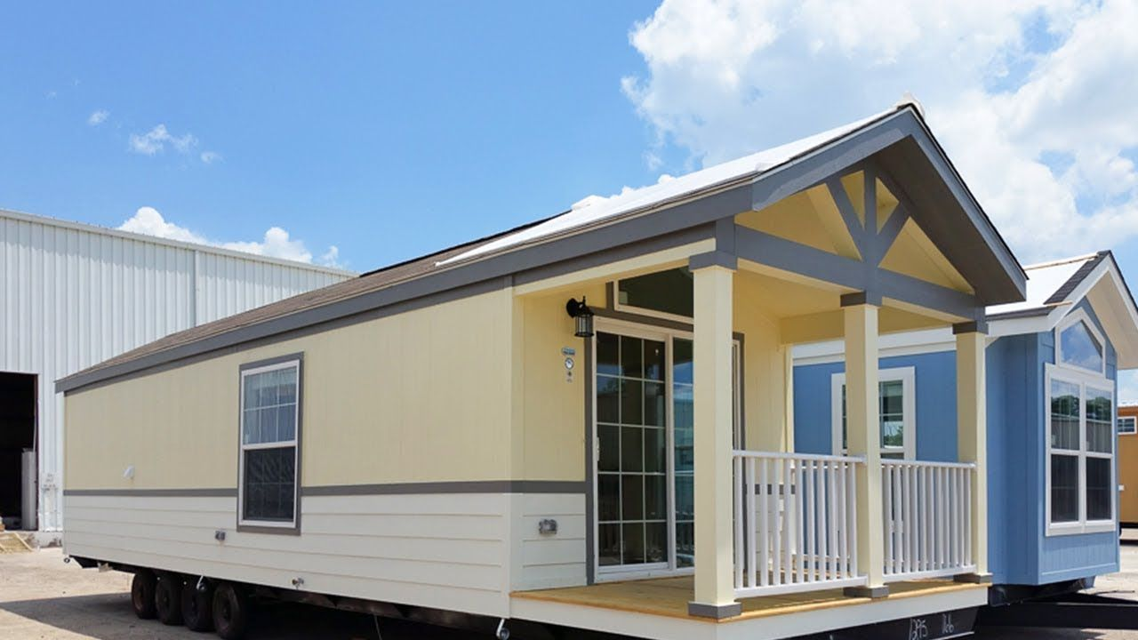 Gorgeous Cozy Blanchard Park Model RV Has 1 Bed And Bath