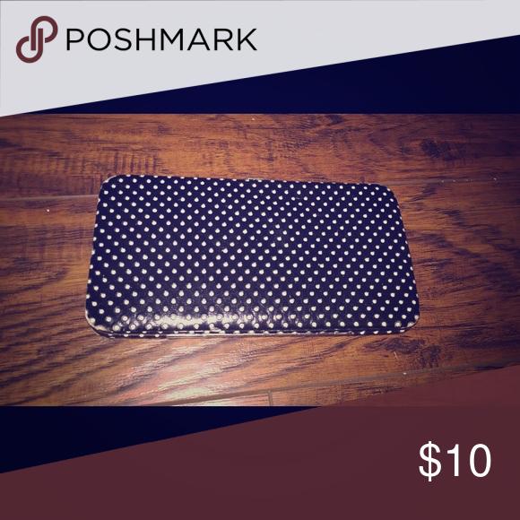 Polka dot wallet Gently worn. Bags Wallets