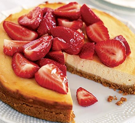 Tangy cheesecake with strawberries recipe diabetic friendly tangy cheesecake with strawberries recipe diabetic friendly large egg and stevia forumfinder Gallery