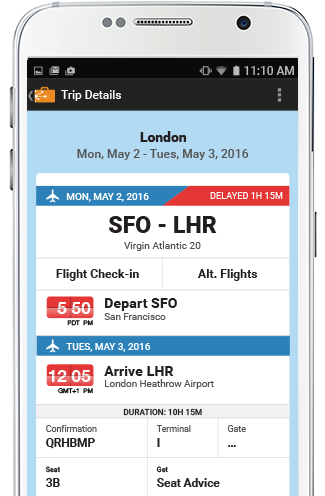 tripit organizes your travel plans in one place finds alternative