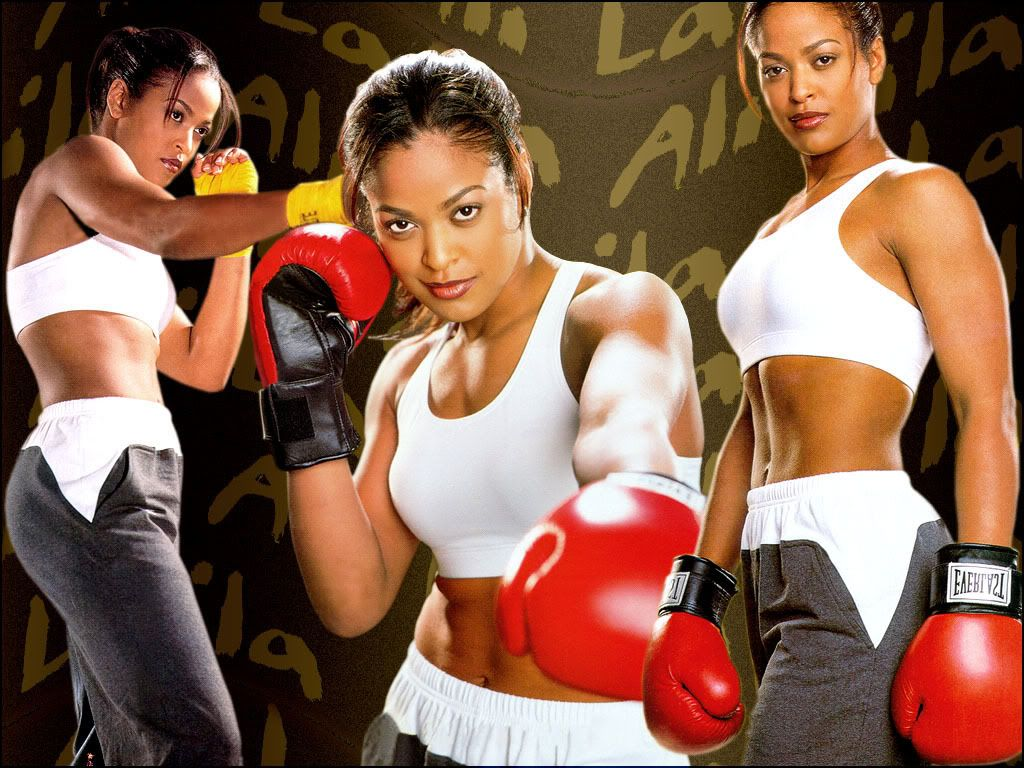 Female erotic boxing double team