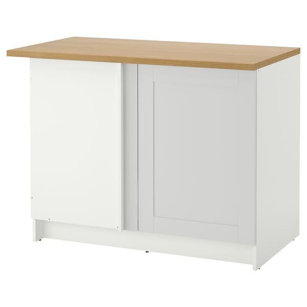 Best Ikea Knoxhult Base Corner Cabinet Gray Kitchen Modular 400 x 300