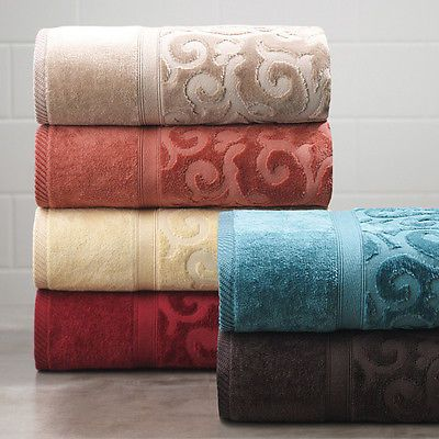 Imperial Scroll Towel Collection Towel Collection Towel