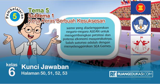 Lengkap Kunci Jawaban Buku Tematik Tema 5 Kelas 6 Wirausaha Kurikulum 2013 Revisi Buku Kurikulum Kunci