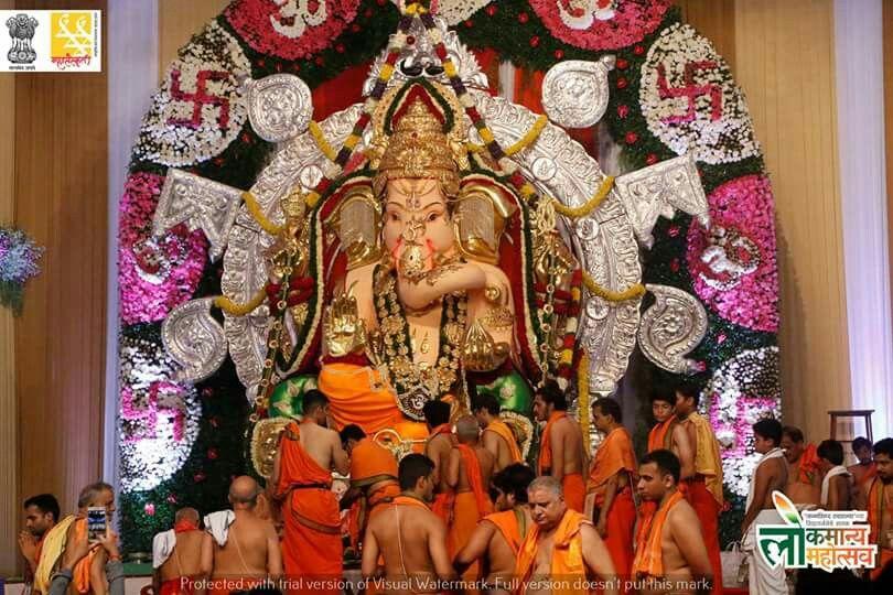 GSB Matunga Ganapati, Mumbai, india Mumbai Ganesh Utsav 2016