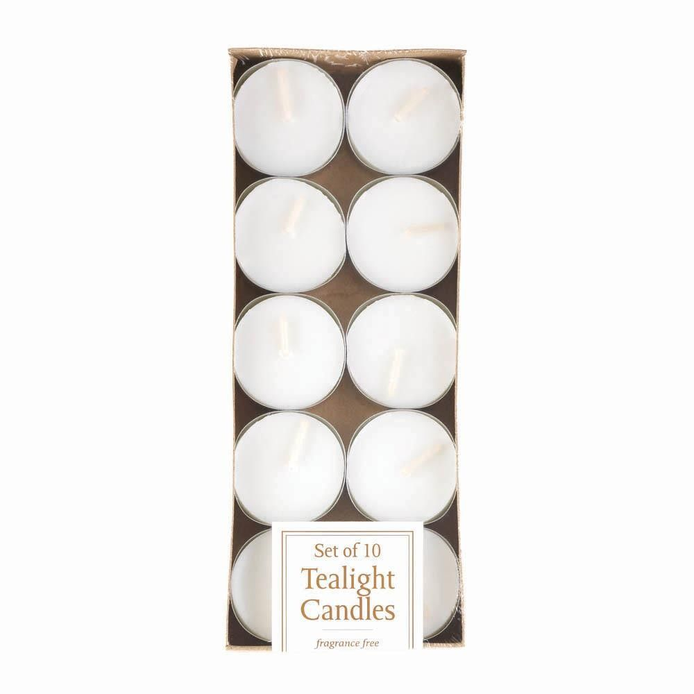 White tealight candles pack of jorcollectables