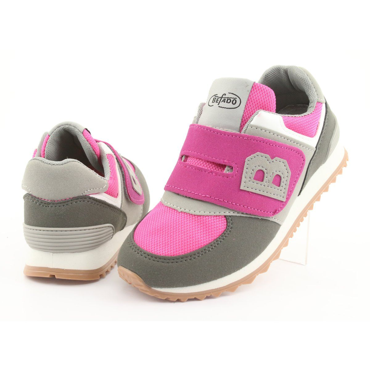 Befado Children S Shoes Up To 23 Cm 516y039 Pink Grey Childrens Shoes Kid Shoes Shoes