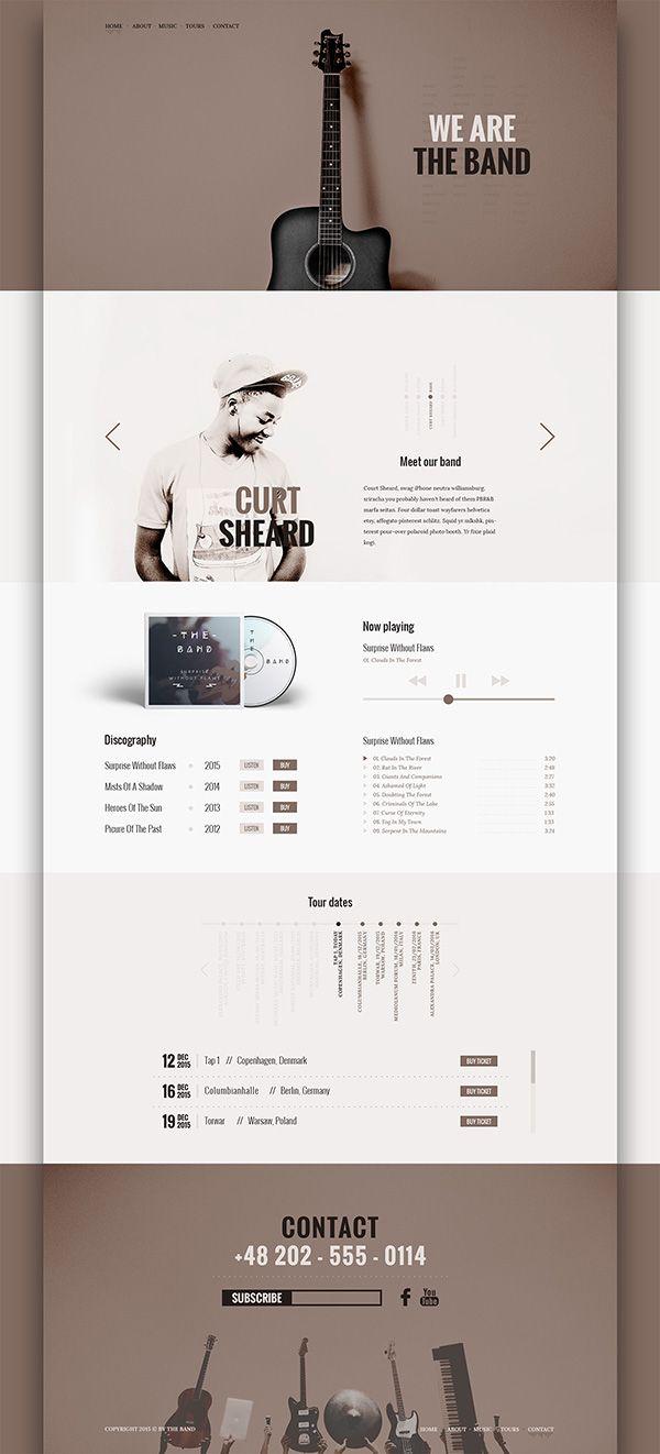 200+ Amazing Free PSD Website Templates | Plantillas de currículum ...
