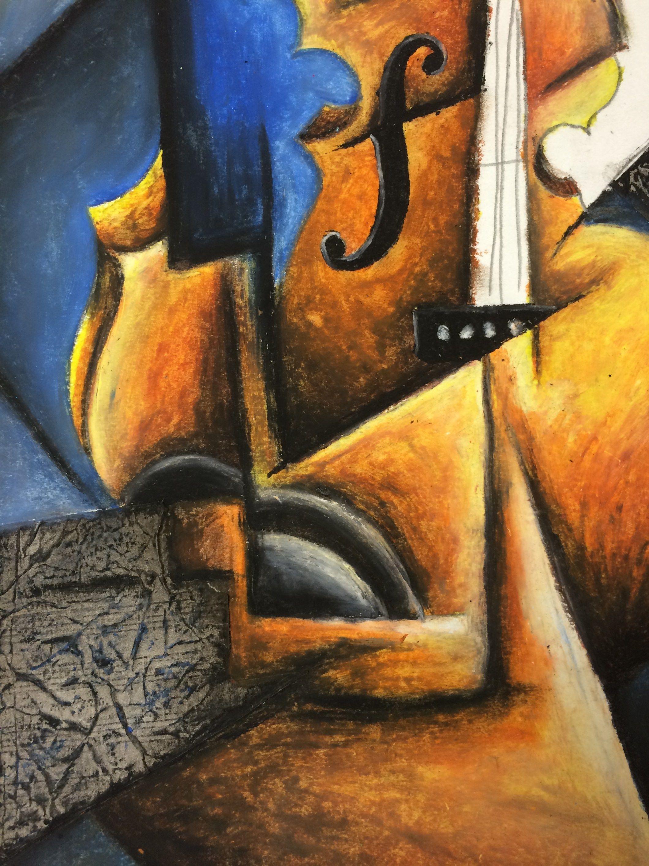 Cubism Music Instrument Lesson Plan