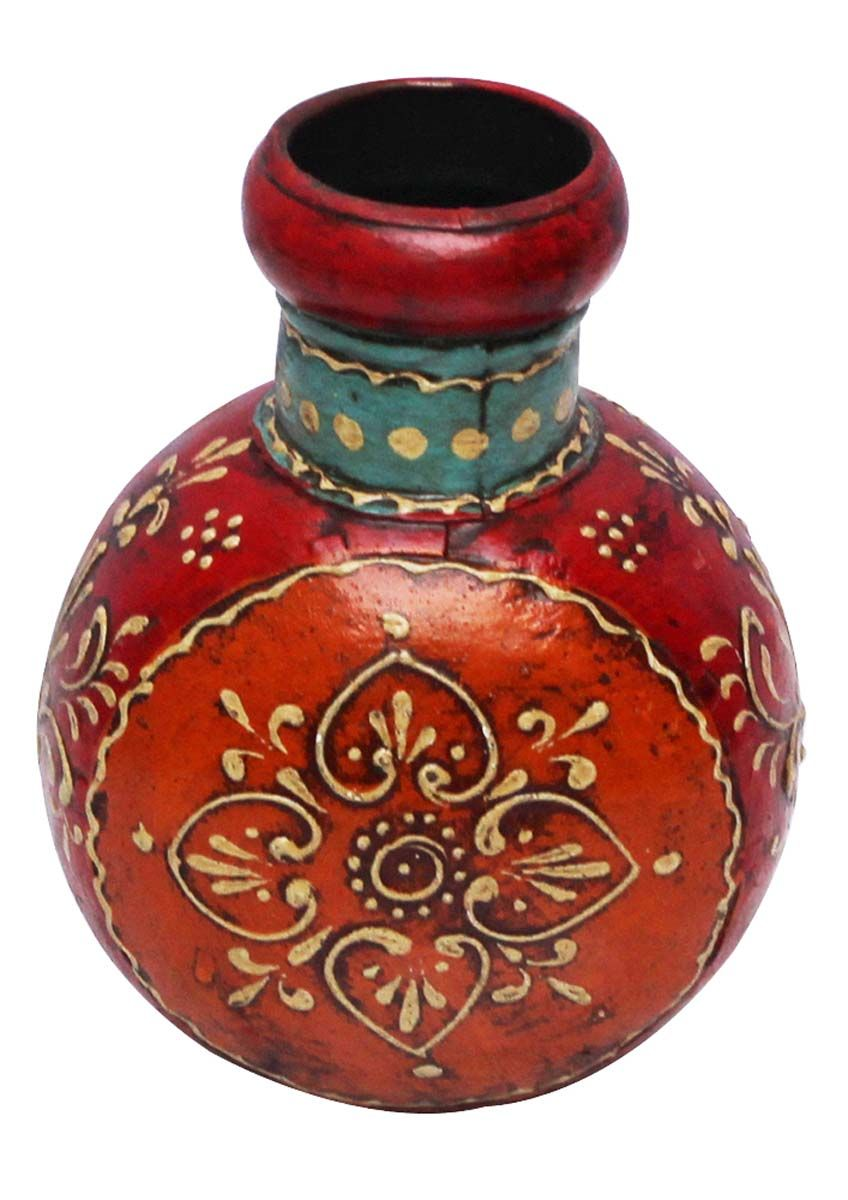 flower glass art decorated from home cor mosaic india vase look wholesale vases in pot ethnic d with bulk colorful handmade pin