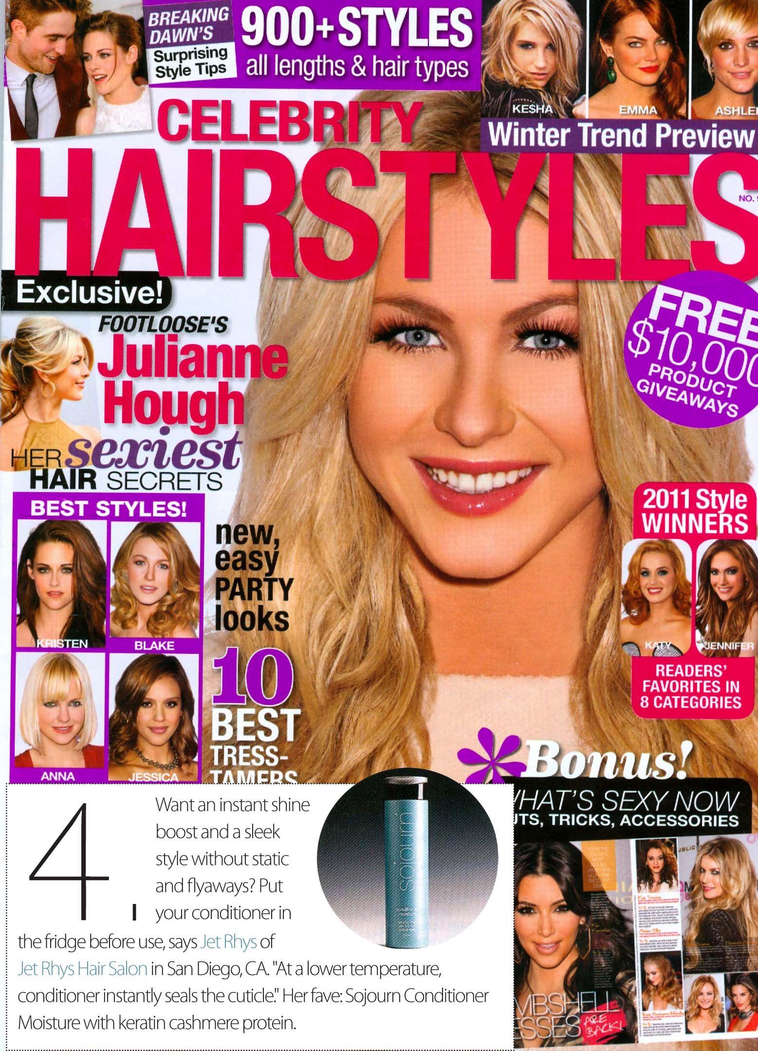 Celebrity Hairstyles February 2012 Celebrity Hairstyles Hair Magazine Hair Lengths