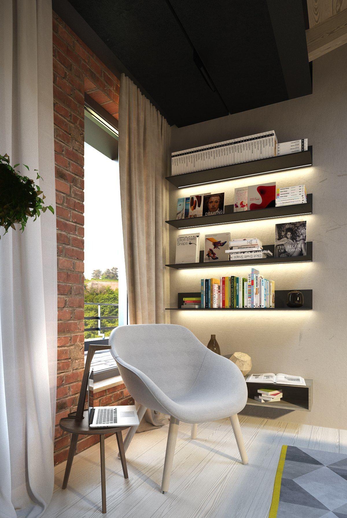 Exposed Concrete Walls Ideas Inspiration House Design Concrete Wall Dark Interior Design