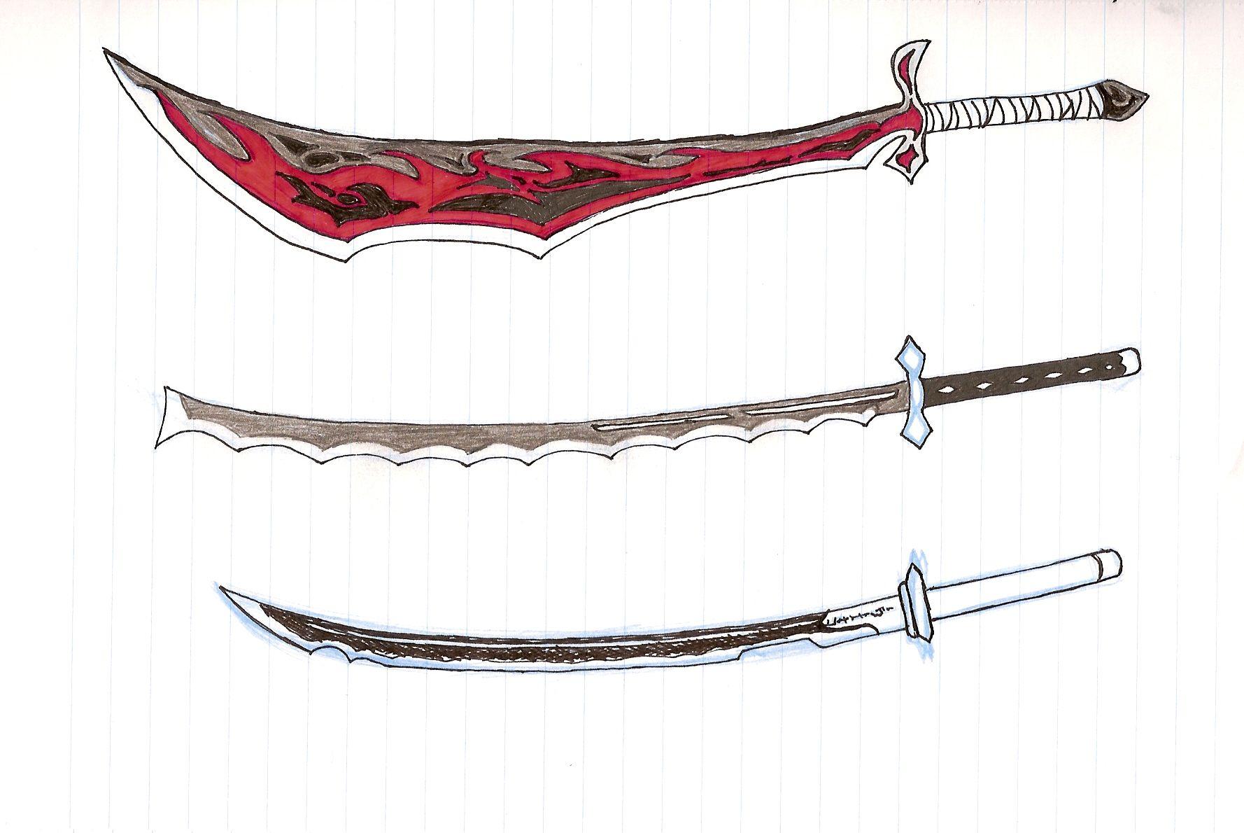 Холодное оружие картинки нарисованные