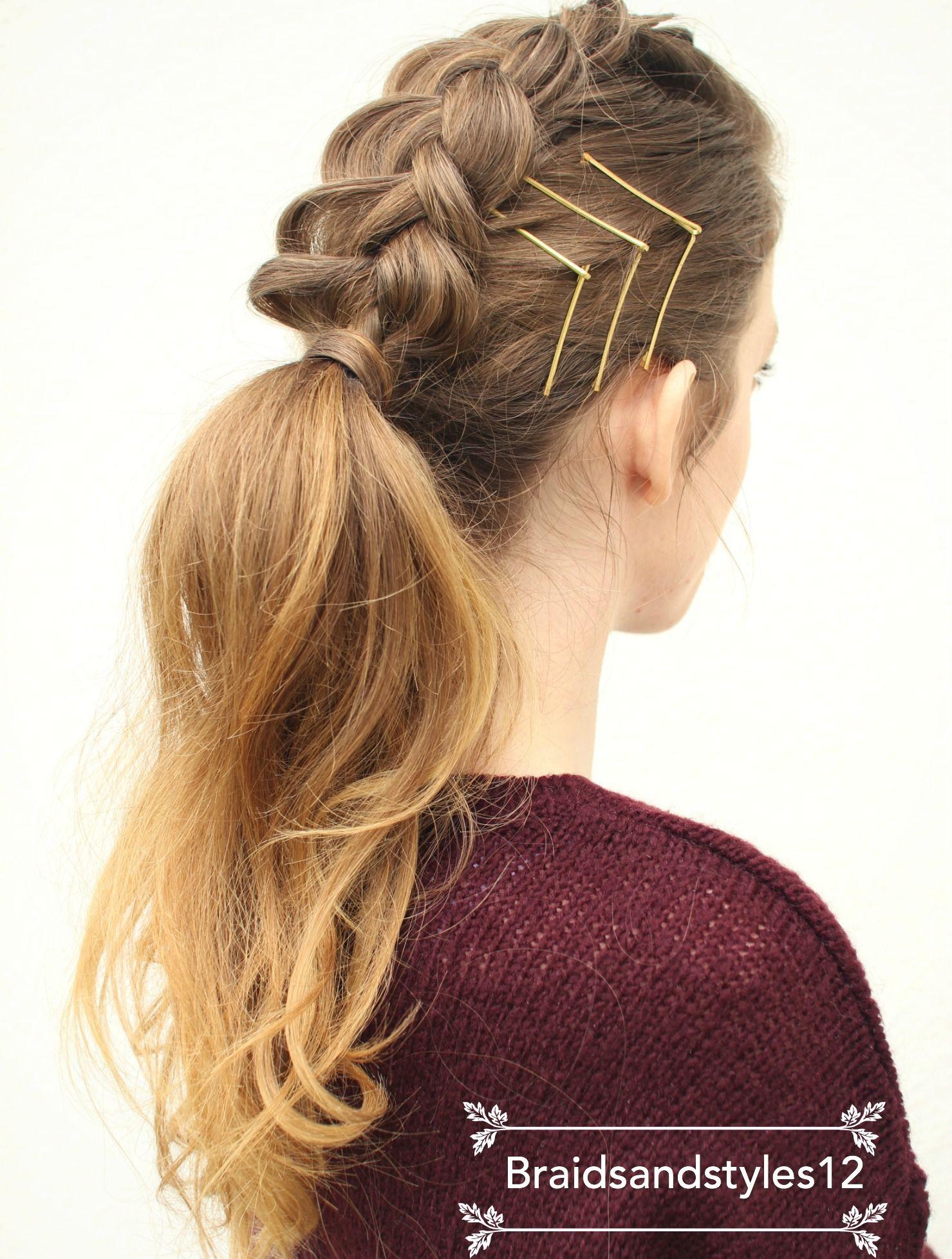 braidsandstyles12 | ponytail, hair style and diy hair