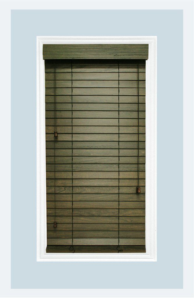 Rustic Collection Custom Made 2 Inch Real Wood Horizontal Window Blinds Driftwood Inside Mount Blinds Blinds For Windows Venetian Mirrors