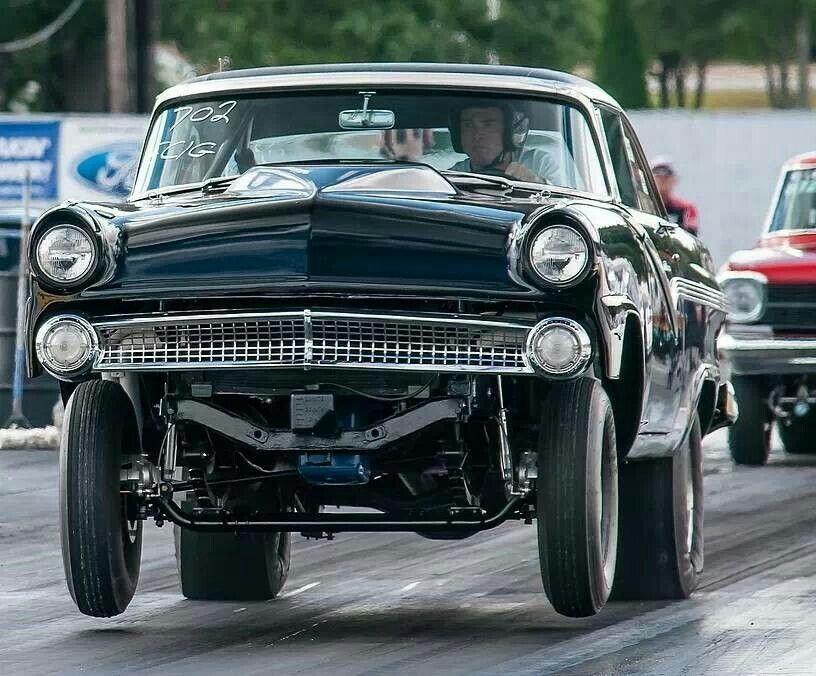 '56 Ford gasser It's a GASser! Pinterest Ford, Cars