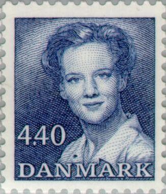Znaczek: Queen Margrethe II (Dania) (Queen Margrethe II serie 2) Mi:DK 938,Sn:DK 803,Yt:DK 945,AFA:DK 927