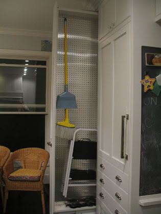 Pullout Broom Closet   Great For Pantry/mudroom