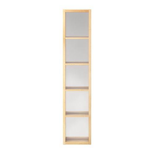 MOLGER Polica so zrkadlom IKEA Možno zavesiť horizontálne alebo vertikálne.