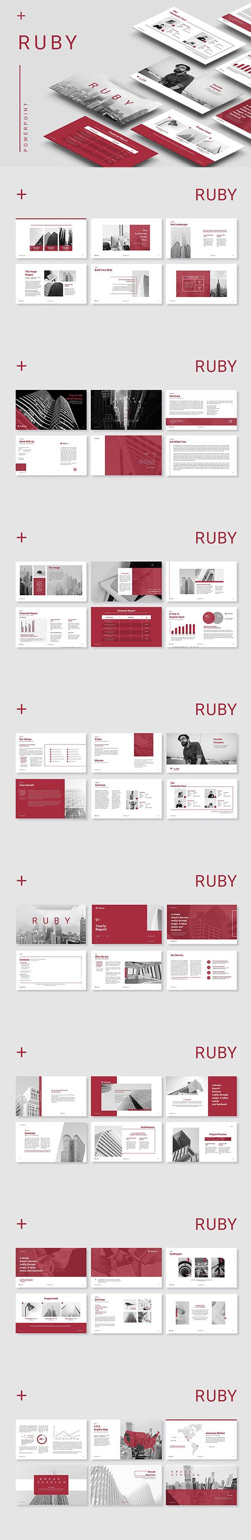 Ruby Powerpoint | Pinterest | Powerpoint presentation templates ...