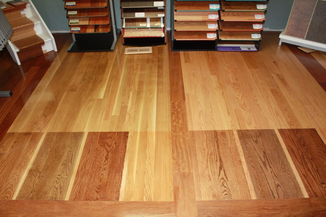 What Oak Hardwood Floor Stain Looks Best With Honey Cabinets Google Search