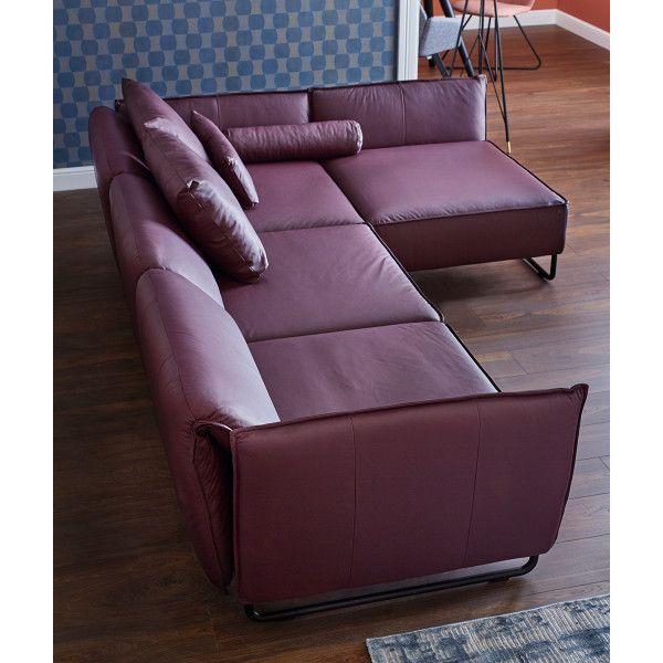 Mit Unserem Sofa Vision Holst Du Dir Ein Echtes Chamaleon In Dein Wohnzimmer Moderne Linien Und Pu Sofa Schoner Wohnen Und Wohnen