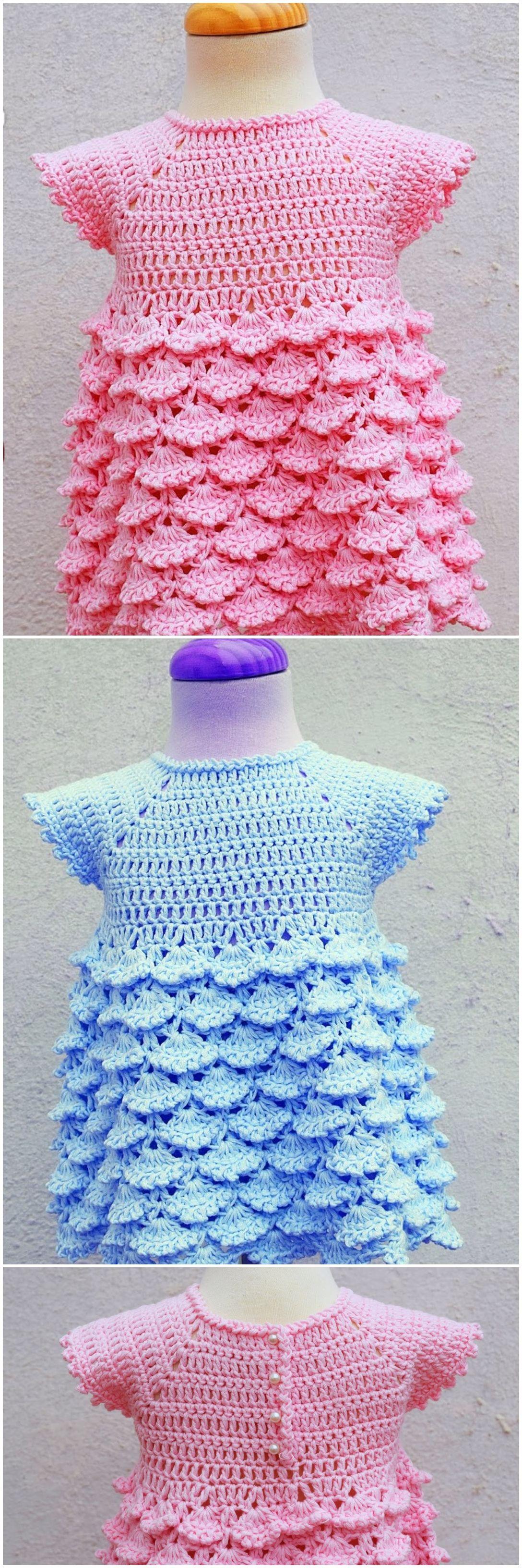 Photo of Crochet Baby Girl Dress – Crochet Ideas