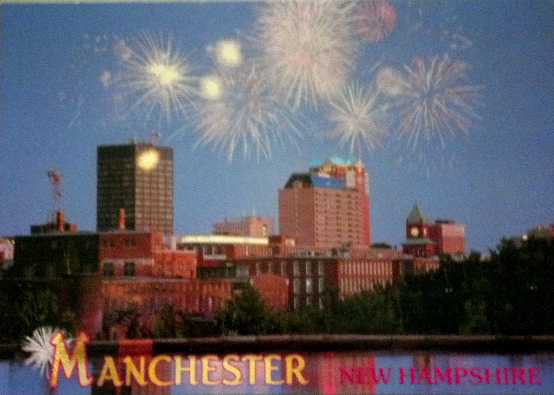 Postcrossing Postcard From Manchester Nh Postcard