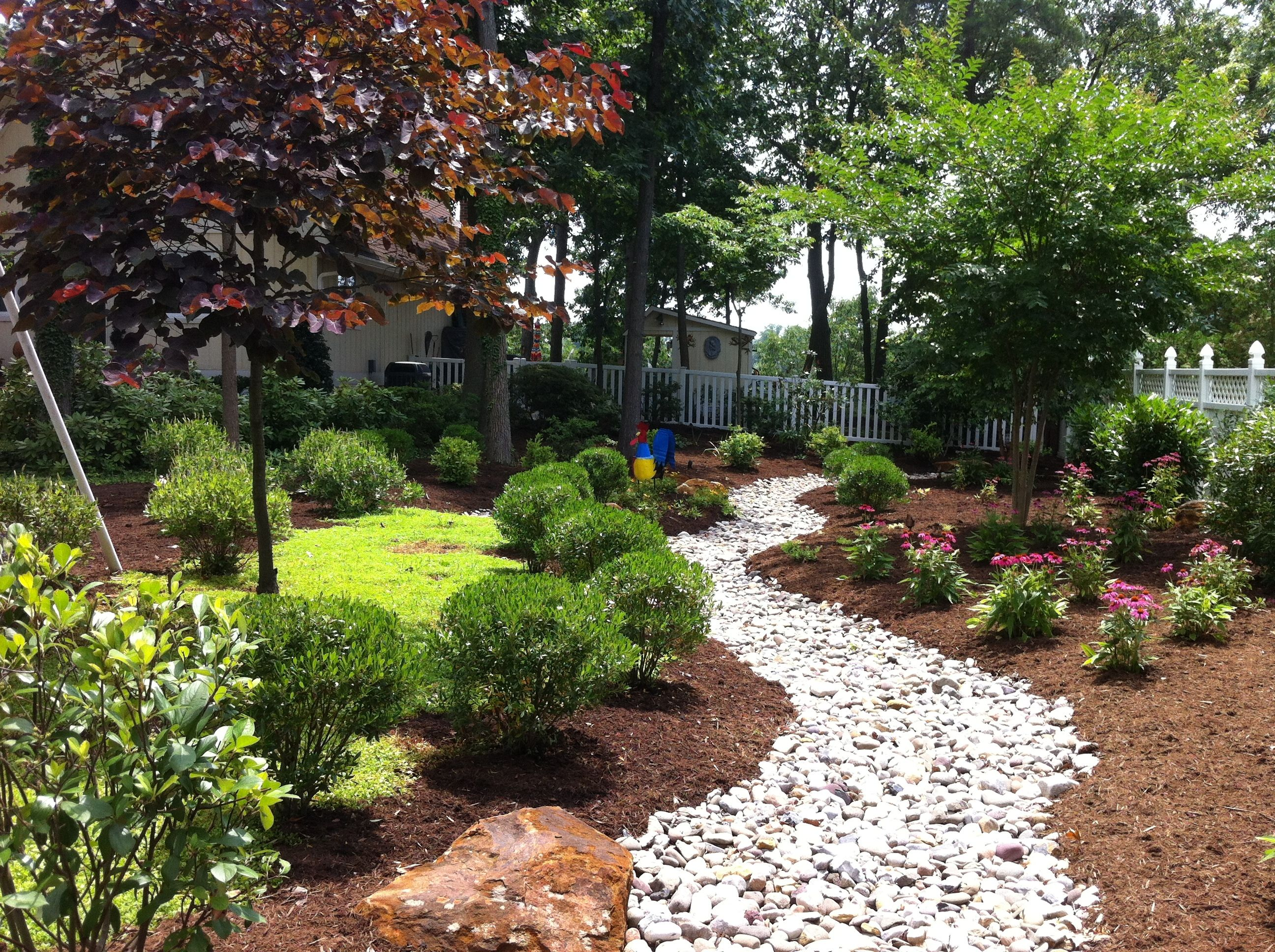 landscaping and hardscaping dry river bed google search - Garden Design Dry River Bed