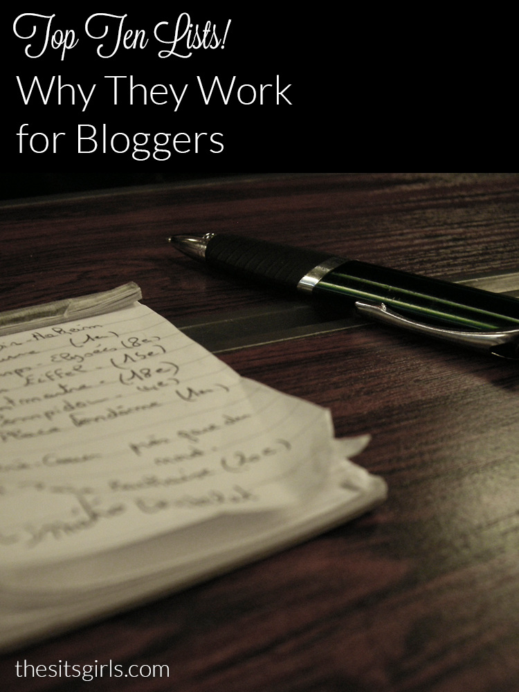 Writing Tip: Top ten lists make great blog posts. These tips will help you write the perfect numbered list post.