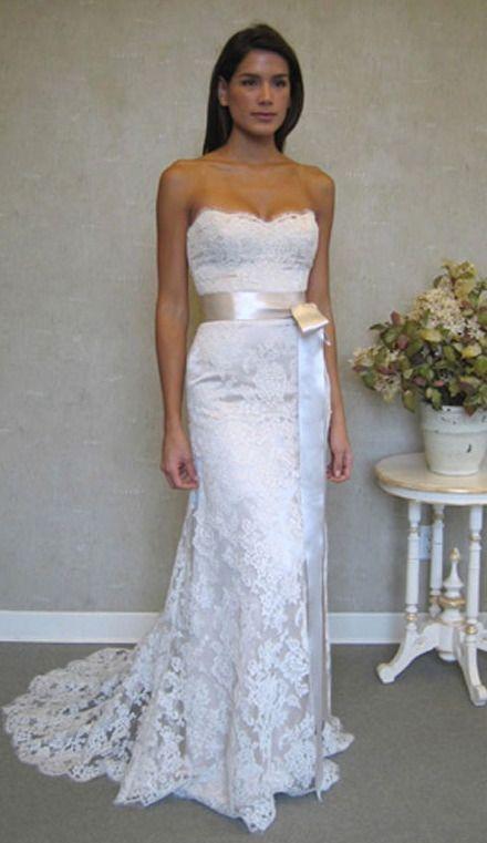 New Lace White/Ivory bridal Wedding Dress Custom size 4-6-8-10-12-14 ...