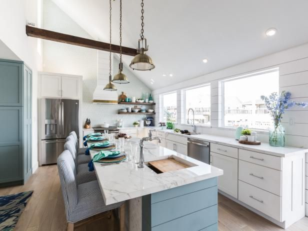 Image Result For Square Tiles Used In Property Brothers Honeymoon House Kitchen