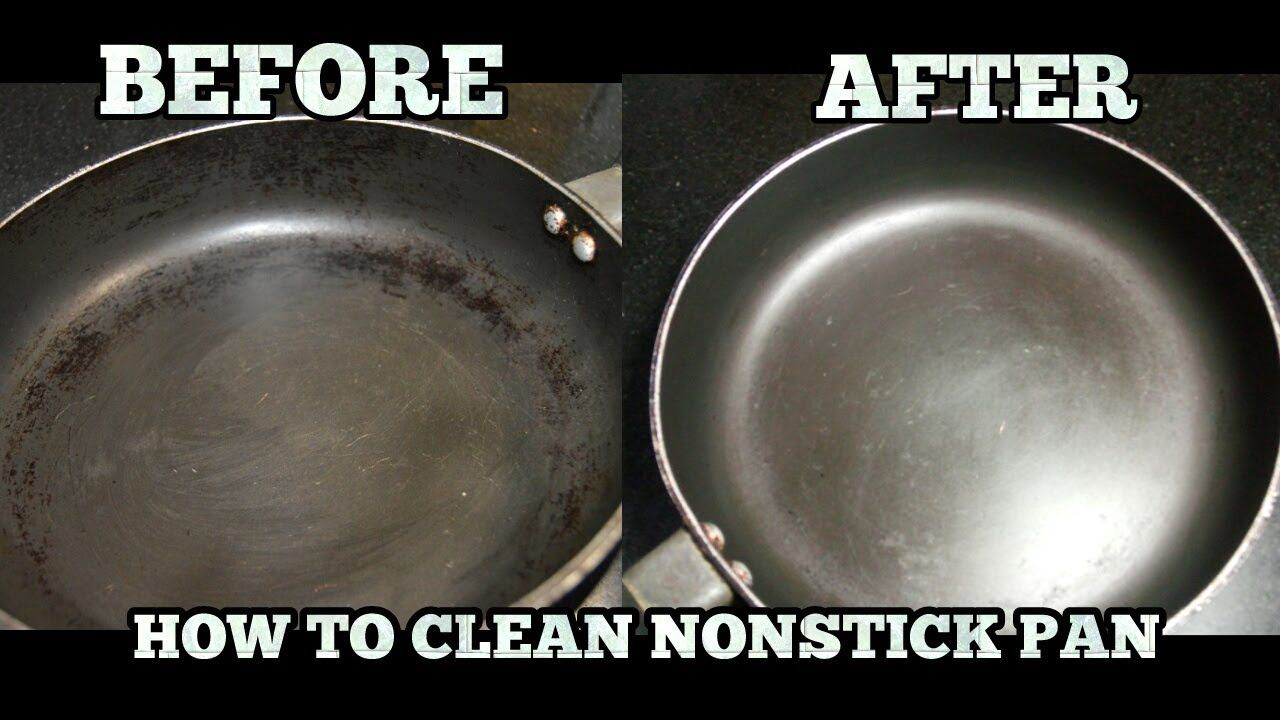 How To Clean Greasy Oil From Non Stick Pan How To Clean Nonstick Cookware In Hindi Sub Youtube In 2020 Nonstick Cookware Cleaning Pans Nonstick Utensils