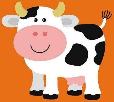 Dibujos De Vacas A Color Para Imprimir Buscar Con Google Granja